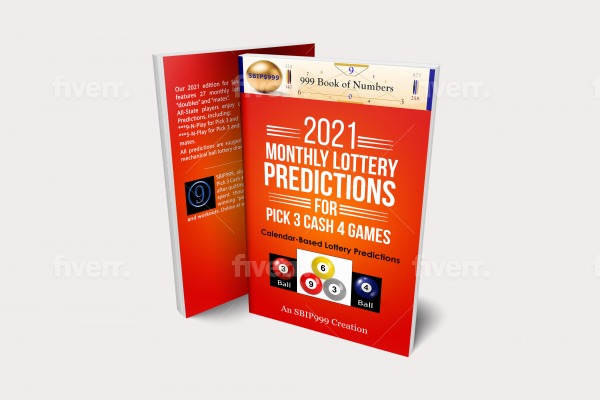 2021 Monthly Lottery Book